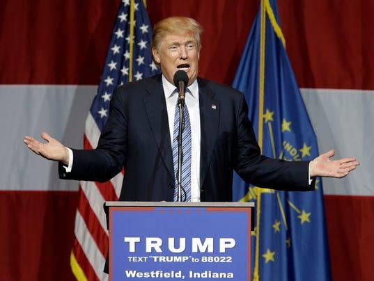 AP GOP 2016 TRUMP'S CONFIDENTIALITY DEMANDS A ELN USA IN