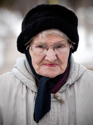 Irene Pundsack, 91, is taking part in the St. Cloud