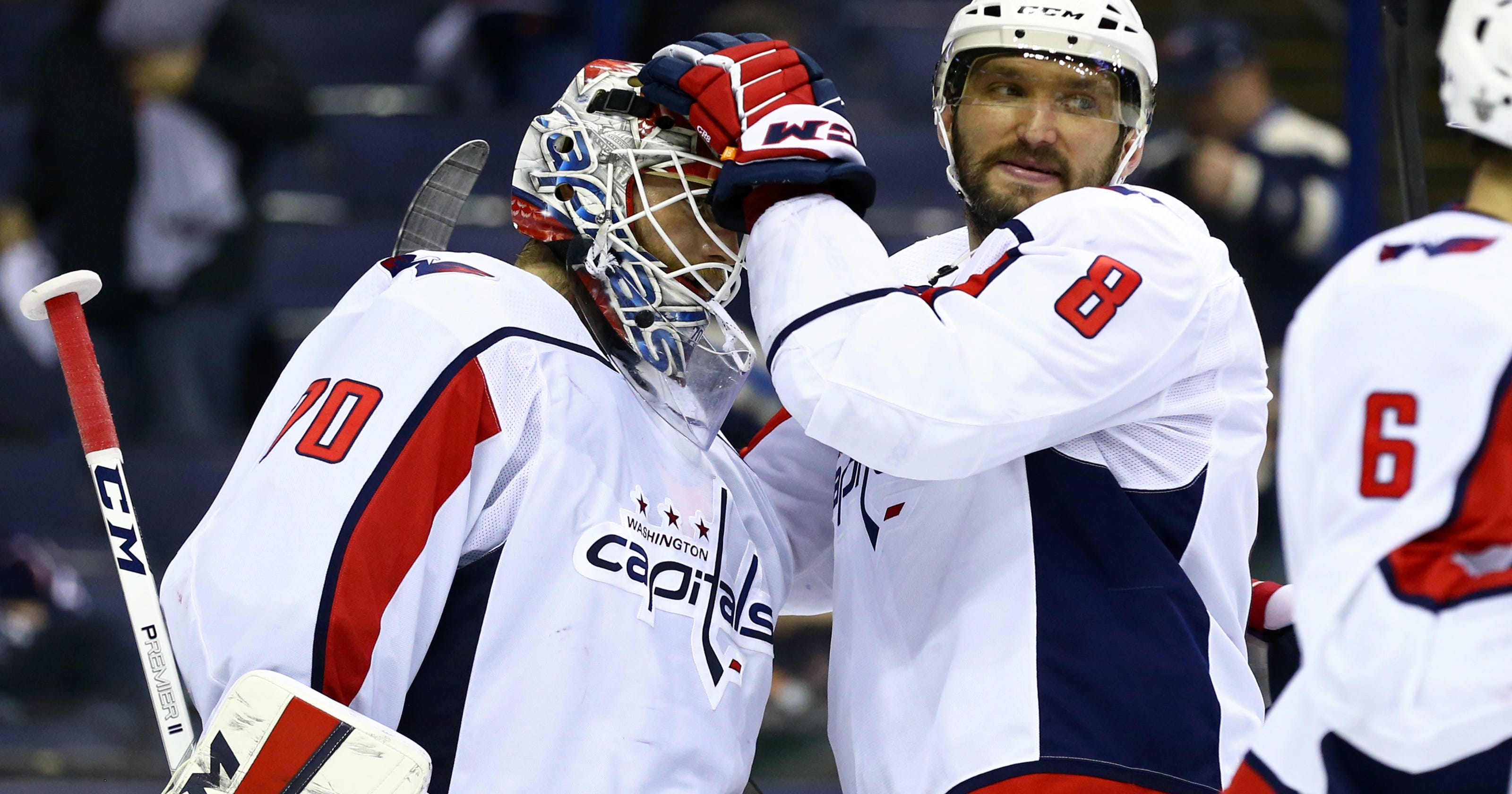 e83cd06ddff Holtby to Ovechkin   You re doing great