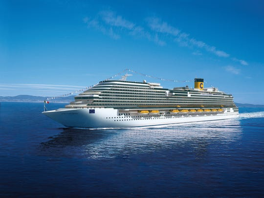 Costa Diadema was built by Costa Cruises in 2014.