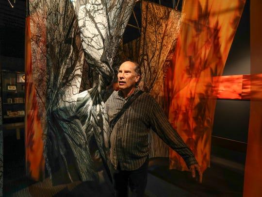 Julius Friedman walks through one of four original