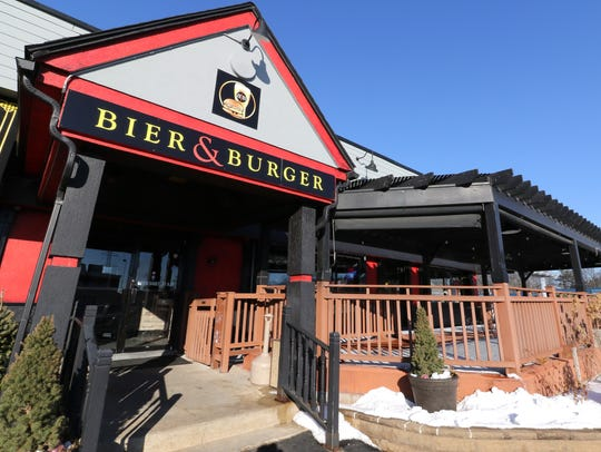 The Bier & Burger has opened at 5171 S. 108th St. in