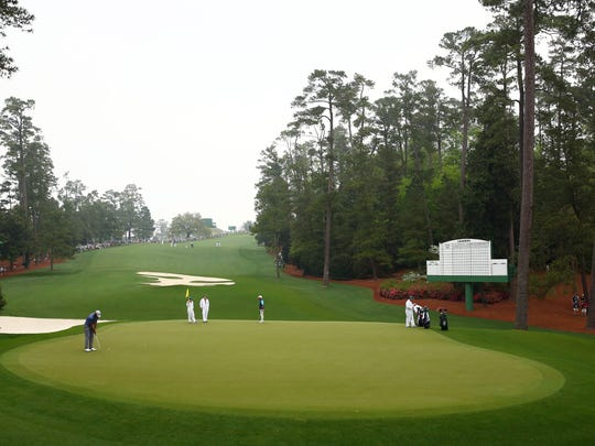 ESPN's Sage Steele says Augusta National is eerily perfect.
