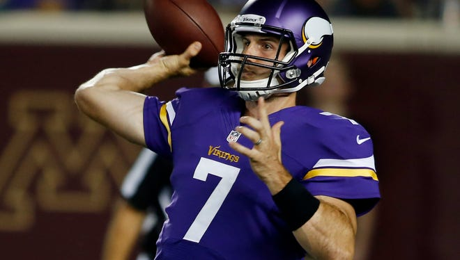 Christian Ponder is 14-20-1 in 35 NFL starts.