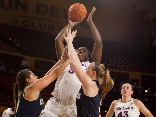 ASU Women's Basketball - UC Davis