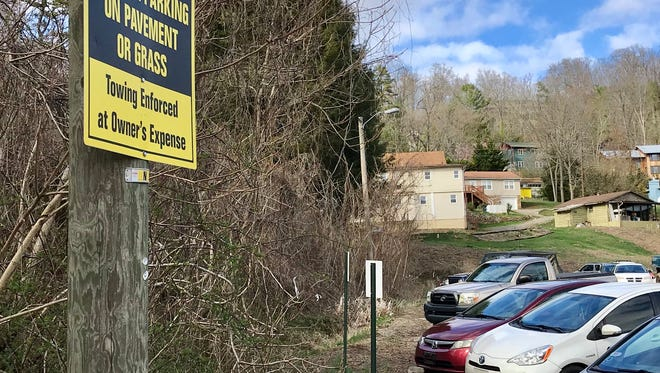 UNC Asheville is working with Covenant Reformed Presbyterian Church on the feasibility of expanding this parking lot by the church. If it's possible, both the church and university would benefit from more parking spaces, possibly as many as 140-160.