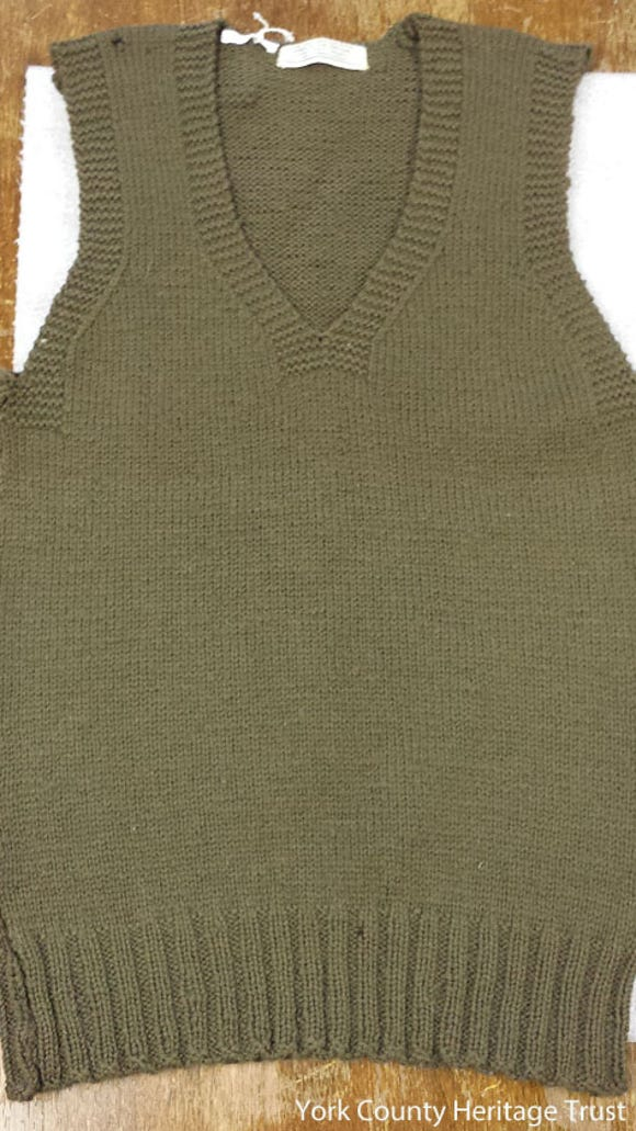 York-knit Bundles for Britain sweater