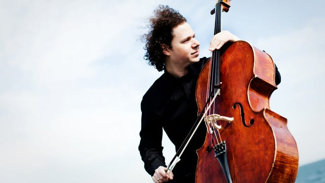 Cellist Matt Haimovitz performs Jan. 15, 2017, at the Musical Instrument Museum in Phoenix.