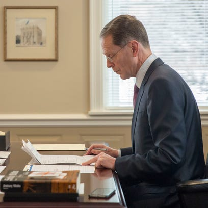 Ball State University President Geoffrey Mearns works