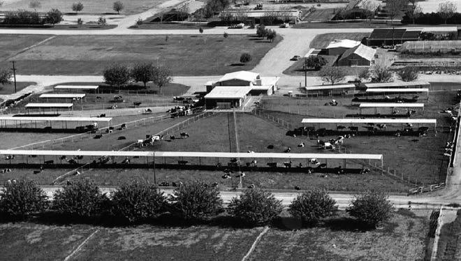 The ASU Research Farm, circa 1969, eventually gave way to the ASU Research Park.