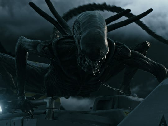 "She's back: It's the extra-terrestrial star of ""Alien:"