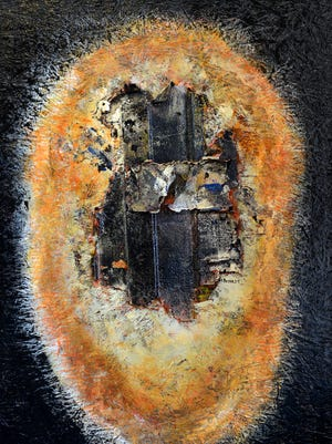"""""""The Word Series: The Light,"""" by Diane Brim, at Quayside Gallery."""