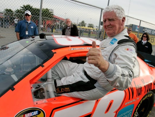 James Hylton attempted to qualify for the 2007 Daytona
