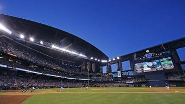 The Arizona Diamondbacks host  the Chicago Cubs in their MLB game Saturday, April 9, 2016 in Phoenix,  Ariz.