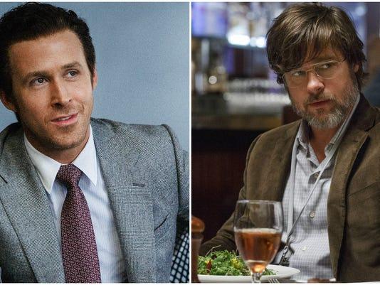 Ryan Gosling, Brad Pitt Go Full Un-hot In 'Big Short'