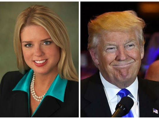Florida's attorney general Pam Bondi personally solicited