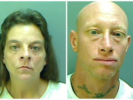 Wendy Soucier and Bubba O'Conner were arrested for