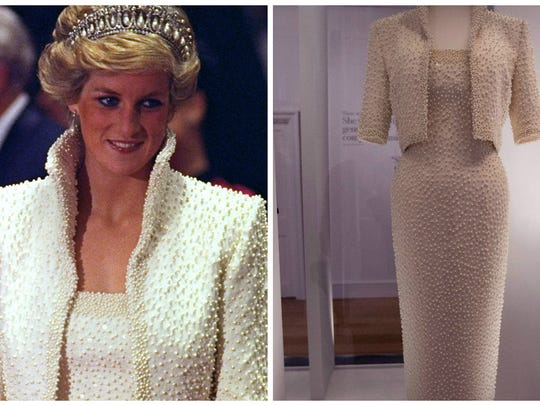 Princess Diana's 'Elvis dress' in Hong Kong in 1989