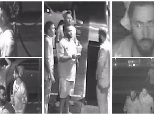 P=Fort Myers police released these photos of three men associated with the fatal shooting of a Fort Myers man Saturday.