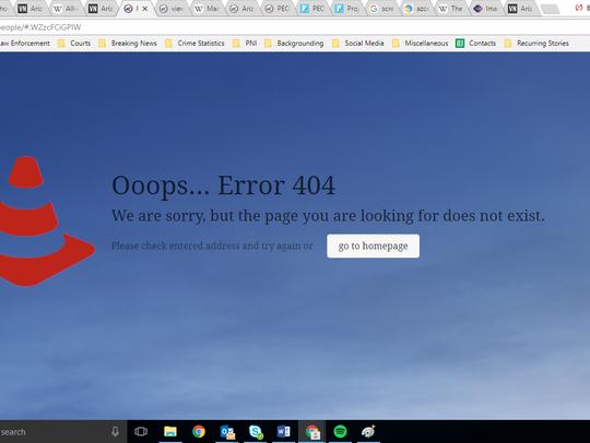 "A screenshot of the Arizona GOP's ""People"" page taken"