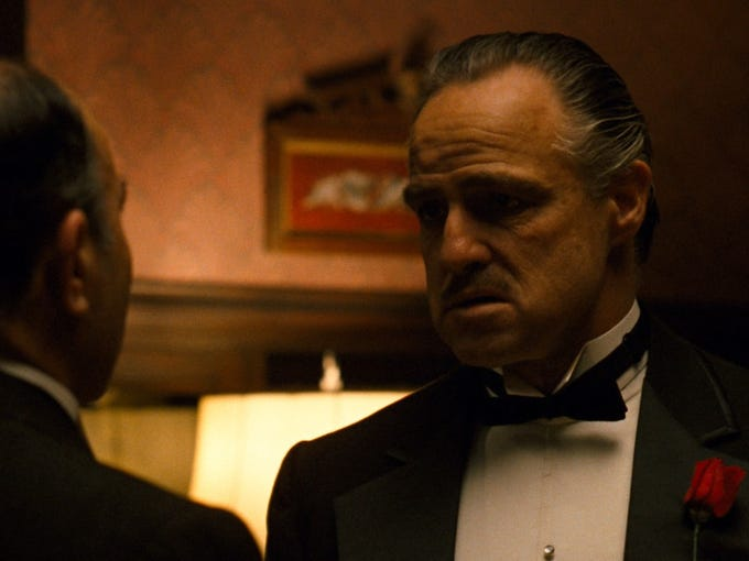 1. The GodfatherReleased: 1972Starring: Marlon Brando,