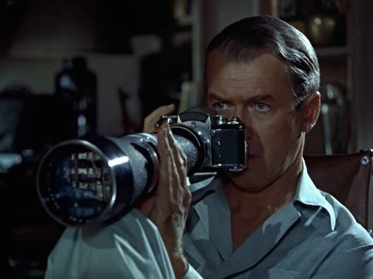 """Alfred Hitchcock's """"Rear Window"""" will be part of the Studio's opening-day lineup. The classic film stars James Stewart, Grace Kelly and Wendell Corey."""