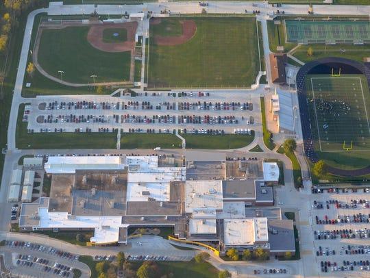 KansasHigh school: Blue Valley High SchoolLocation:
