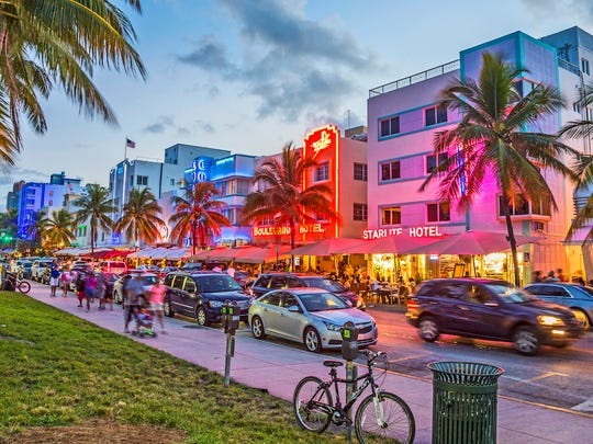 In 2014, Florida overtook New York as the third most populous state in the country. Florida has continued to grow at a near nation-leading pace. The state's population grew by 1.8% in 2016, far more than the 0.7% national population growth rate. Like many of the fastest-growing states, Florida's rapid population growth was largely due to migration. About 9 in every 10 new Floridians either moved to the state from elsewhere in the United States or from another country -- one of the largest such shares nationwide -- while the rest of the state's population increase was due to natural growth.