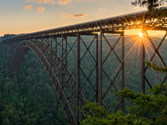 West Virginia was the only state to see both negative