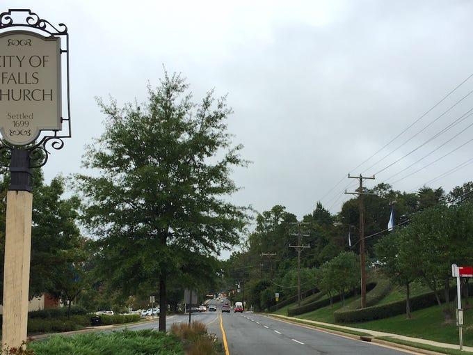 1. Falls Church, Virginia5-yr. population change: