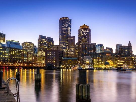 MassachusettsFastest-growing metropolitan area: Boston-Cambridge-Newton