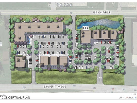 Plans are shown from Christiansen Development of the