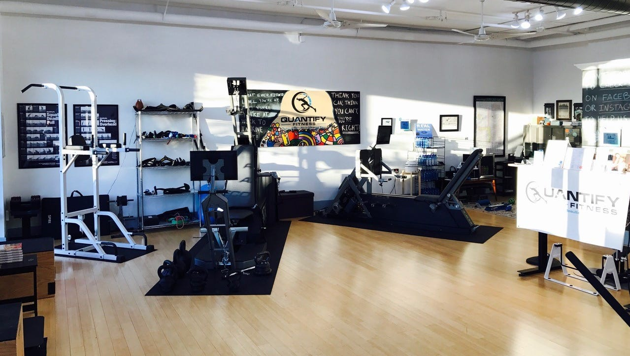 Exclusive insider deal at quantify fitness