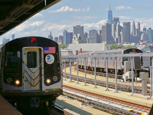 Subway skyline
