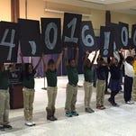 The United Way of Northeast Louisiana announced its 2014 campaign total on Monday.