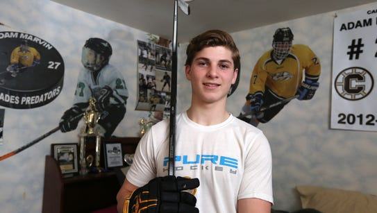 Rockland hockey player of the year, Clarkstown's Adam