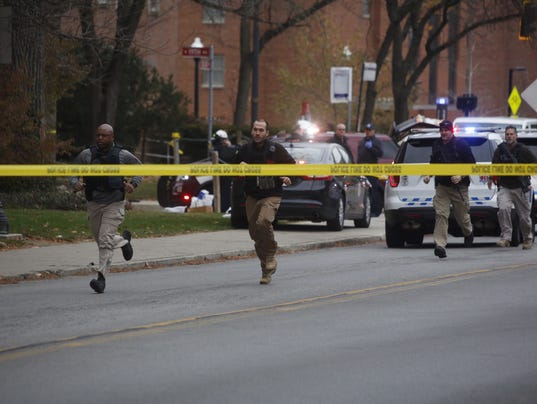 AP OHIO STATE ACTIVE SHOOTER A USA OH