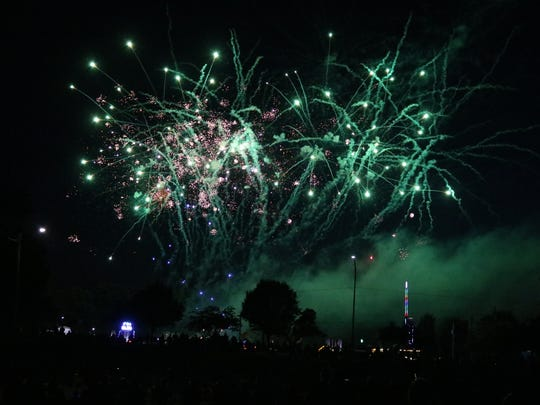 Fireworks will be going off throughout Ottawa County next week to celebrate America's Independence.