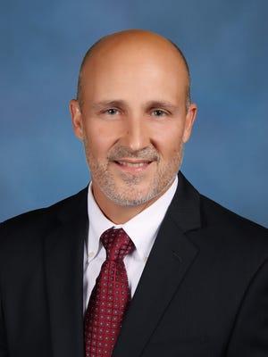 Lee County schools superintendent Greg Adkins.