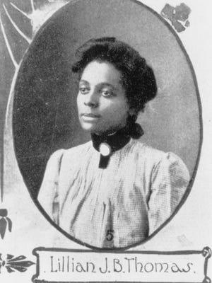 Indianapolis News columnist at the beginning of the 20th Century, Lillian J.B. Thomas Fox