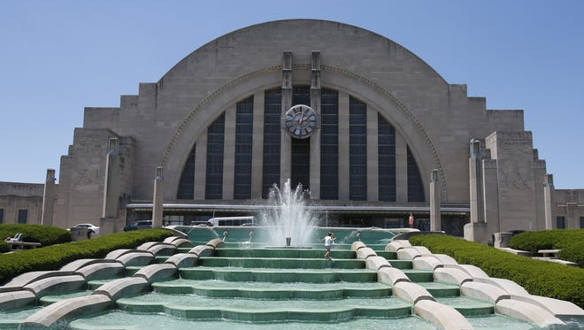 The city purchased historic Union Terminal train station and the land around it in 1975 for $1 million.