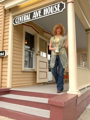 Jennifer Sirois is a fifth-generation hotelier, and the fourth in her line to own the Central Avenue House in Ocean Grove.