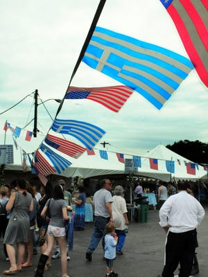 The annual Greek Festival is held June 17-19 at the Kimisis Greek Orthodox Church in the City of Poughkeepsie.