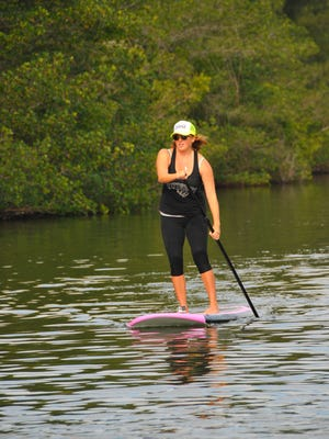 If you love the water, you can learn to paddle board with FLORIDA TODAY's Michelle Mulak.