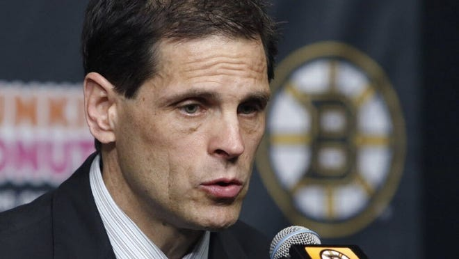 """I think we're learning and will continue to learn throughout it as the players go through it and really everybody interacts,"" Bruins general manager Don Sweeney said at Friday's Zoom conference."