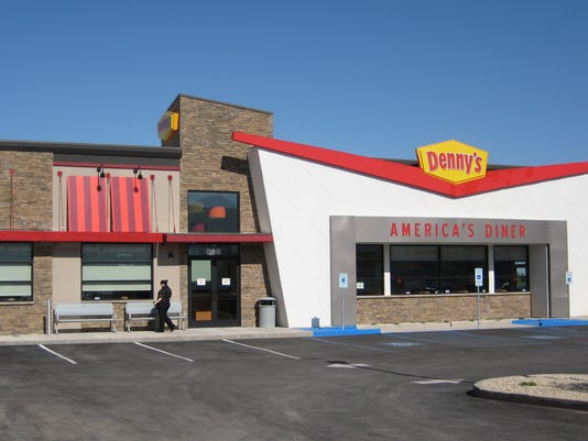 Denny's grand opening