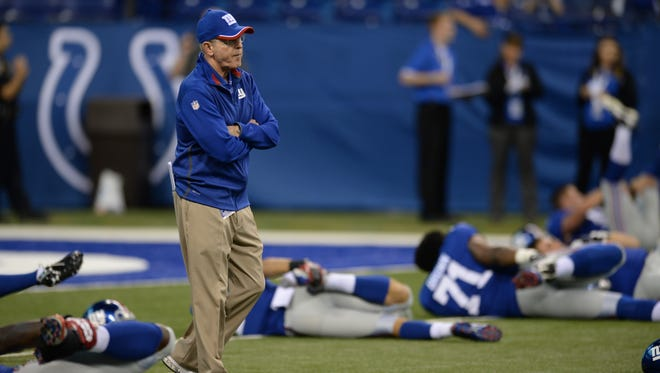 Giants head coach Tom Coughlin is fine with an extra game because he feels the team needed the work.