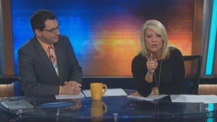 Nancy Naeve anchors the May 13 KSFY morning show
