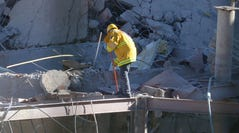Explosion rips through children's hospital in Mexico City