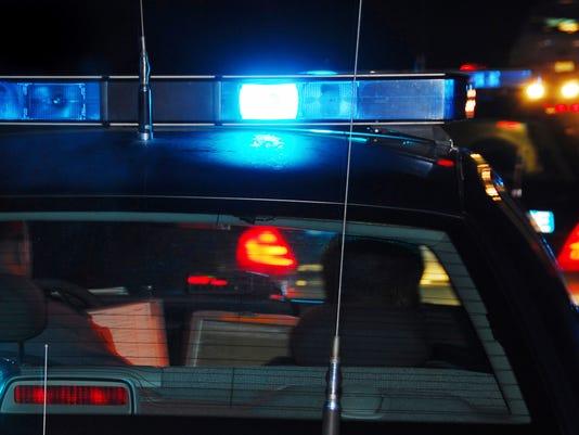 Police cruiser light bar